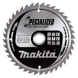 Lame de Scie Circulaire Carbure Makita B-09248 Ø 165mm x 20mm 40 Dents