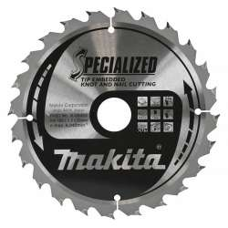 Lame de Scie Circulaire Carbure Makita B-09422 Ø 190mm x 30mm 24 Dents