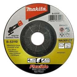 Meule MAKITA B-53110 à ébarber flexible pour métal et inox