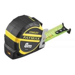 METRE A RUBAN STANLEY FATMAX® PRO BLADE ARMOR 8M RUBAN FLUORESCENT
