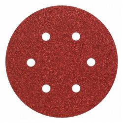 Lot de 5 Feuilles abrasive BOSCH PRO C430 Ø 150 mm