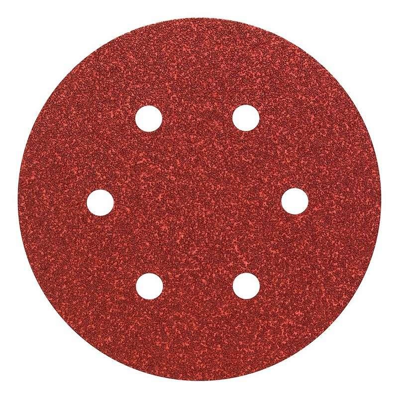 Lot de 5 Feuilles abrasive BOSCH PRO C430 Ø150mm