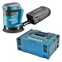 Ponceuse excentrique MAKITA DBO180ZJ 125mm à batteries LXT 18V (Machine seule)