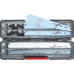 Coffret de 20 lames de scie sabre Bosch Pro 2607010996 bois/métal