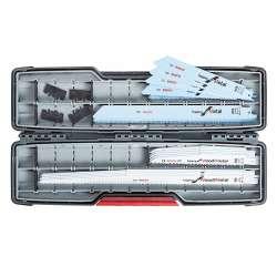 Coffret de 16 lames de scie sabre Bosch Pro 2607010997 démolition bois et métal