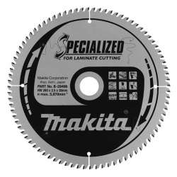Lames carbure MAKITA B-29496 ''Specialized'' Ø 260mm