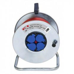 Enrouleur Électrique Métallique Professionnel 3G 2.5mm² CEBA Cyber