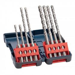 Coffret de 8 Forets BOSCH Professional 2607019903 SDS-plus-3 pour perforateur Tough Box