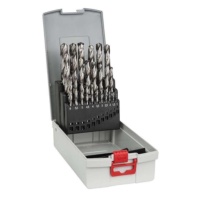 Coffret ProBox 25 Forets à métaux HSS-G BOSCH 2608587017