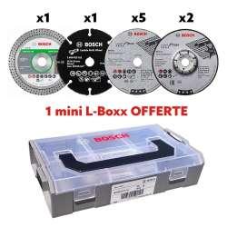 Pack 9 disques en mini L-Boxx BOSCH PRO 06159975VC