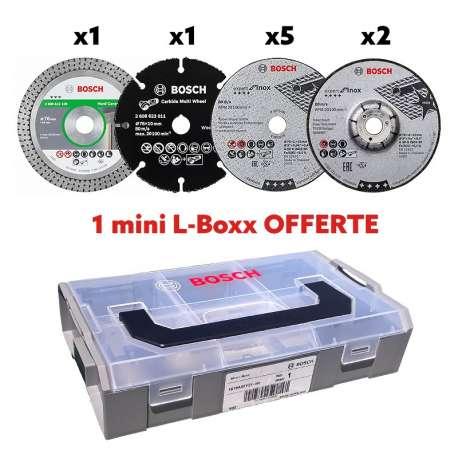 pack 9 disques en mini l boxx bosch pro 06159975vc. Black Bedroom Furniture Sets. Home Design Ideas