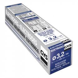 Étui de 165 électrodes rutiles Acier 3,2 mm GYS 085046