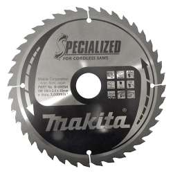 Lame MAKITA B-09254 pour scies circulaires à main MAK SPECIALIZED