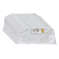Lot de 10 sacs à poussière MAKITA 197903-8 en papier filtrant pour DVC260