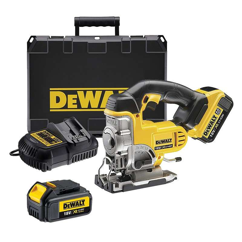 dewalt dcs331m2 scie sauteuse 18v li ion xr 2 x 4 0ah. Black Bedroom Furniture Sets. Home Design Ideas