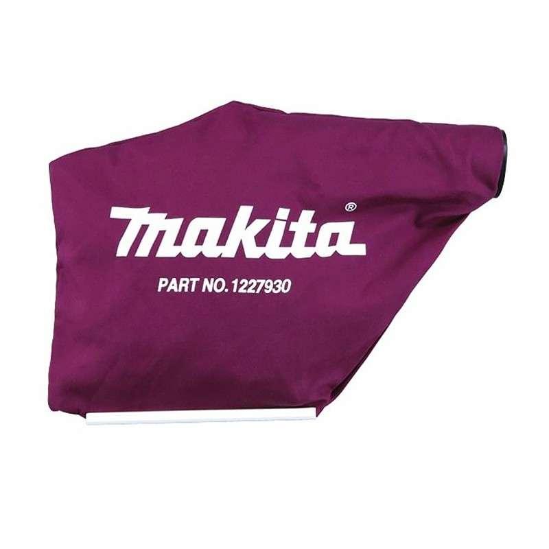Sac à poussières tissu MAKITA 122793-0 pour rabots MAKITA KP0800 , KP0810 , KP0810C , KP0810K et KP0810CK