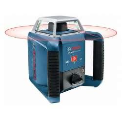 Laser rotatif BOSCH GRL 400 H Professional + Mire + Trepied