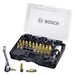 Coffret d'embouts Bosch Professional 2607017459 27 pièces (Gold & Black Edition)