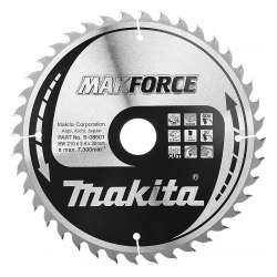Lame de Scie Circulaire MakForce Carbure MAKITA B-08501 Ø 210 mm X 30 mm 40 Dents