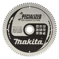 Lames de scie SPECIALIZED STRATIFIE MAKITA B-33875