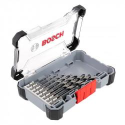 Coffret de 8 forets HSS impact control spécial métal BOSCH queue 6 pans 1/4 2608577146