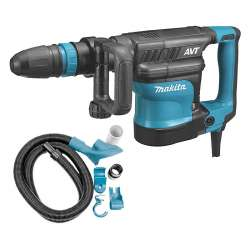 Burineur SDS-Max MAKITA HM1111CV 1300W + kit d'aspiration MAKITA 196572-2