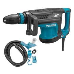 Burineur MAKITA HM1213CV SDS-Max 1510W + kit d'aspiration MAKITA 196572-2