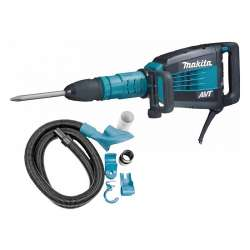 Burineur MAKITA HM1214CV SDS-Max 1510W + kit d'aspiration MAKITA 196572-2