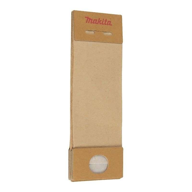 Sacs à poussières en papier MAKITA 193293-7 pour ponceuses vibrantes