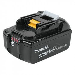 Batterie MAKITA BL1840B Li-ion 18 V 4,0 Ah avec Témoin de charge