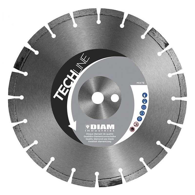 Disque Diamant DIAM MX70350 GAMME TECHLINE Ø 350