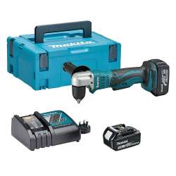 Perceuse angulaire MAKITA DDA351RTJ à batteries LXT 18V (2 x 5,0Ah)