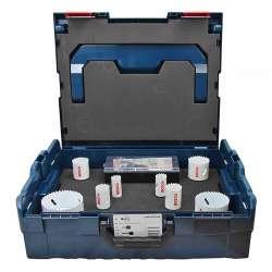 Coffret scie trépans BOSCH 2608836806 + L-BOXX