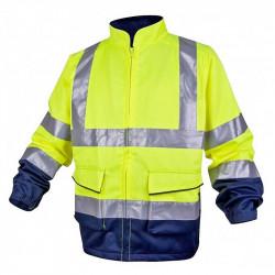 Veste de Travail Haute Visibilité Panostyle DELTAPLUS en coton / polyester