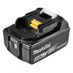 Batterie MAKITA BL1850B Li-ion 18 V / 5 Ah (témoin de charge intégré)