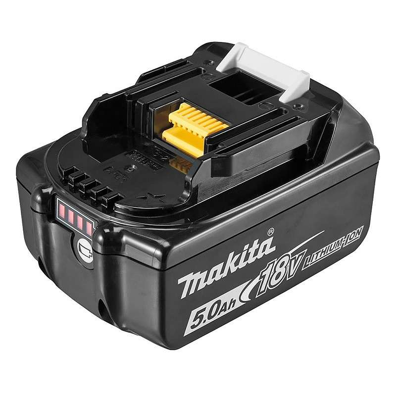 Batterie MAKITA BL1850B Li-Ion 18V / 5 Ah ( témoin de charge intègré )