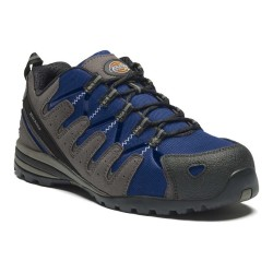 Chaussures de sécurité basses DICKIES EMERSON - S3 SRC - noir/bleu roi