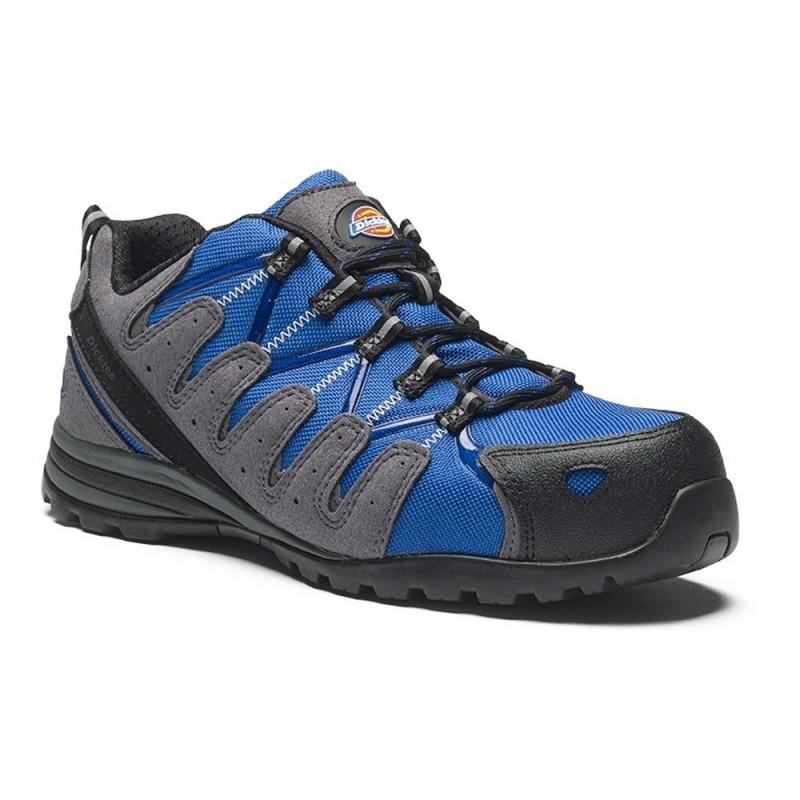 Chaussures sécurité basse DICKIES TIBER S3 SRC bleu roi/noir