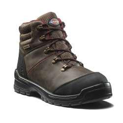 Chaussures de sécurité hautes DICKIES CAMERON - S3 SRC - marron