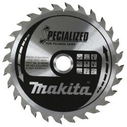 Lame de Scie Circulaire carbure MAKITA B-09282 Ø 165 mm