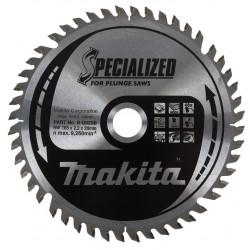 Lame de Scie Circulaire Carbure MAKITA B-33015 (B-09298) Ø 165 mm X 20 mm 48 Dents