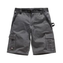 Short de travail DICKIES GDT210 - 210 g/m² - gris/noir