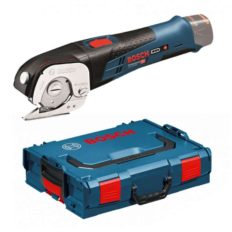 Cisaille universelle sans fil BOSCH GUS 12V-300 Professional (Machine Nue) + L-Boxx