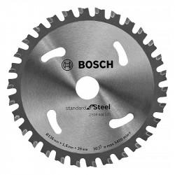 Lame BOSCH 2608644225 Ø 136 mm 30 dents pour scie circulaire à métaux à batterie