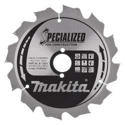 Lame MAKITA B-13683 Ø 190mm pour scies circulaires à main MAK SPECIALIZED CONSTRUCTION