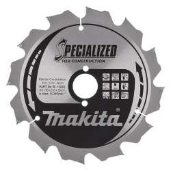 Lame MAKITA B-13683 Ø 190mm pour scies circulaires à main MAK SPECIALIZED CONSTRUCTION