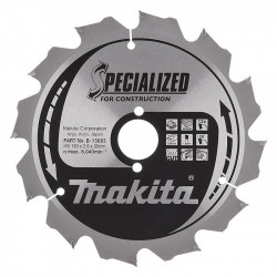 Lame carbure MAKITA B-33554 ''Specialized'' Construction (FERMACELL®) pour scies circulaires