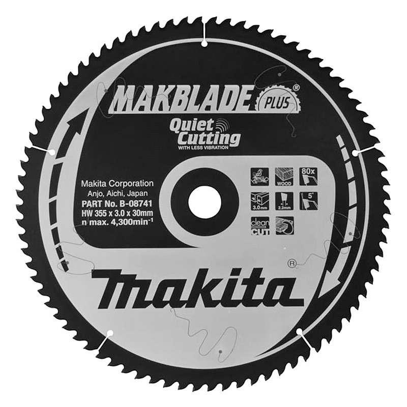 Lames au carbure Makita MAKFORCE B-04282 pour scies circulaires
