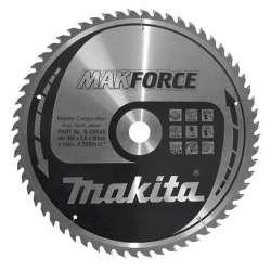 Lame carbure Bois Makita MAKFORCE B-04276 355 mm pour scies circulaires