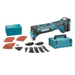 Outil multifonctions oscillant MAKITA TM30DSAJX3 à batteries CXT 10,8V (2x2,0Ah)